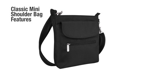 Travelon Anti-Theft Classic Mini Shoulder Bag - eBags.com - image 3 from the video