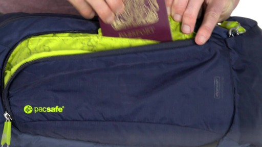 Pacsafe Venturesafe 325 GII - on eBags.com - image 4 from the video