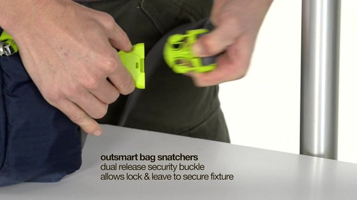 Pacsafe Venturesafe 325 GII - on eBags.com - image 6 from the video