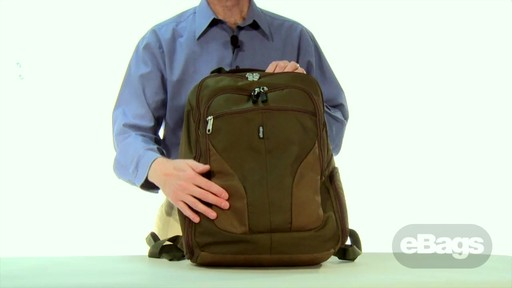 Large Capacity Laptop Backpack. eTech 2.0 Macroloader Laptop Backpack. - image 1 from the video