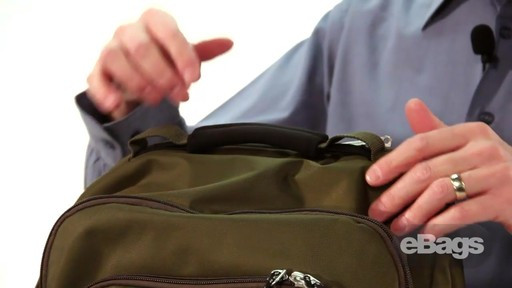 Large Capacity Laptop Backpack. eTech 2.0 Macroloader Laptop Backpack. - image 7 from the video