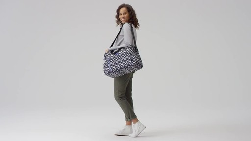 Vera Bradley Lighten Up Weekender Travel Bag - image 1 from the video