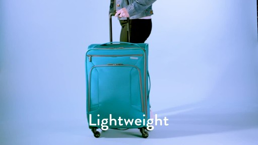 American Tourister 4 Kix Expandable Spinner Luggage Collection - image 1 from the video