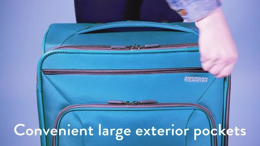 American Tourister 4 Kix Expandable Spinner Luggage Collection - image 2 from the video
