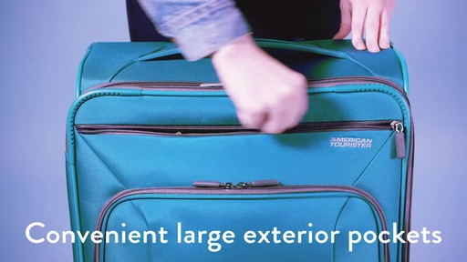 American Tourister 4 Kix Expandable Spinner Luggage Collection - image 3 from the video