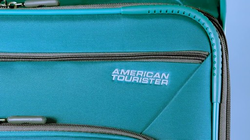 American Tourister 4 Kix Expandable Spinner Luggage Collection - image 9 from the video
