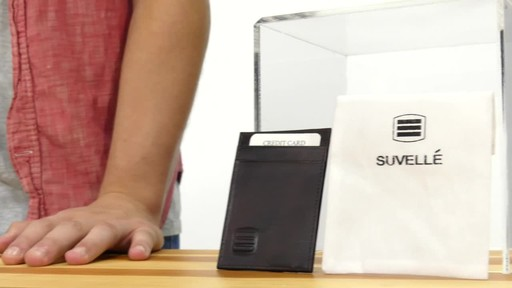 Suvelle Mens Slim Front Pocket Wallet - image 2 from the video