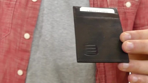 Suvelle Mens Slim Front Pocket Wallet - image 3 from the video