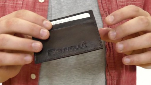 Suvelle Mens Slim Front Pocket Wallet - image 4 from the video