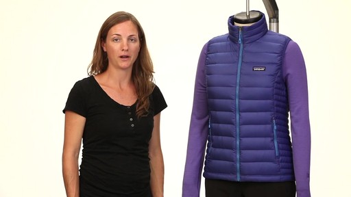 Patagonia Womens Down Sweater Vest - on eBags.com - image 10 from the video