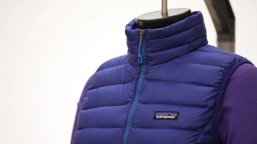 Patagonia Womens Down Sweater Vest - on eBags.com - image 2 from the video