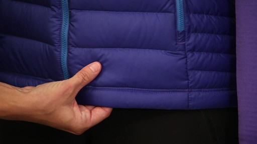 Patagonia Womens Down Sweater Vest - on eBags.com - image 4 from the video