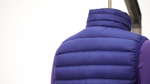 Patagonia Womens Down Sweater Vest - on eBags.com - image 6 from the video