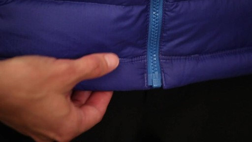Patagonia Womens Down Sweater Vest - on eBags.com - image 9 from the video