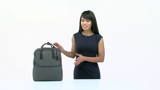 Tumi Sinclair Olivia Convertible Backpack - image 1 from the video