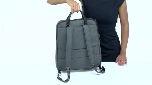 Tumi Sinclair Olivia Convertible Backpack - image 4 from the video