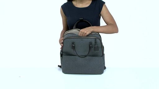 Tumi Sinclair Olivia Convertible Backpack - image 9 from the video