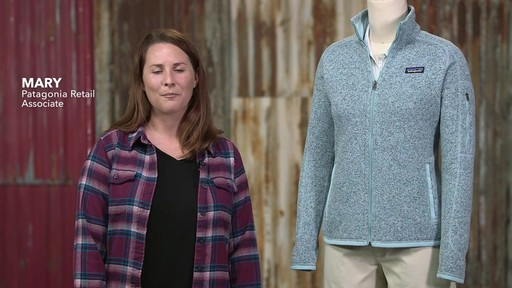 Patagonia Womens Better Sweater Jacket - image 1 from the video