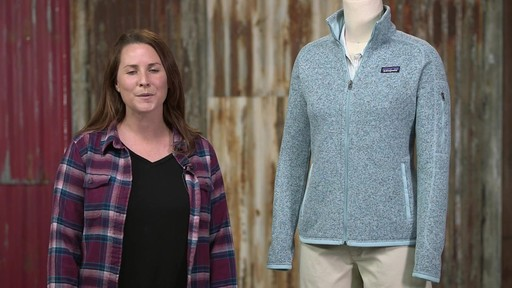 Patagonia Womens Better Sweater Jacket - image 10 from the video