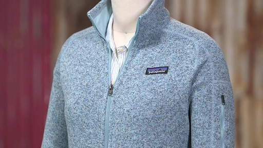 Patagonia Womens Better Sweater Jacket - image 5 from the video