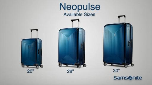The Samsonite Neopulse Hardside Spinner on eBags.com - image 4 from the video