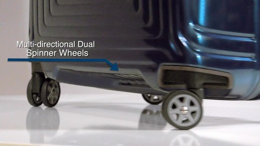 The Samsonite Neopulse Hardside Spinner on eBags.com - image 5 from the video