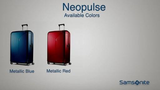 The Samsonite Neopulse Hardside Spinner on eBags.com - image 9 from the video