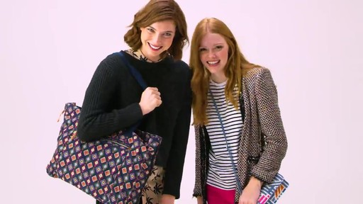 Vera Bradley Lighten Up Expandable Tote - image 10 from the video