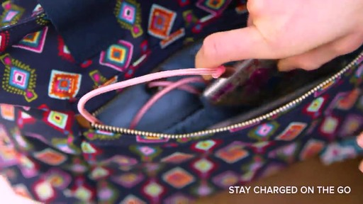 Vera Bradley Lighten Up Expandable Tote - image 4 from the video