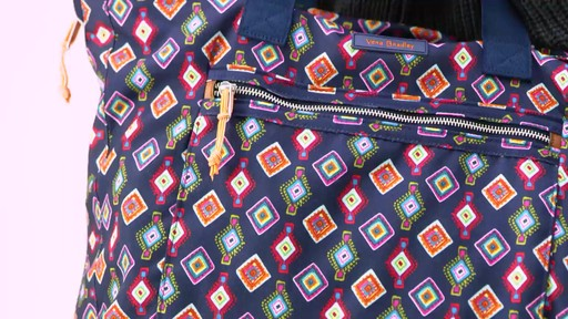 Vera Bradley Lighten Up Expandable Tote - image 5 from the video