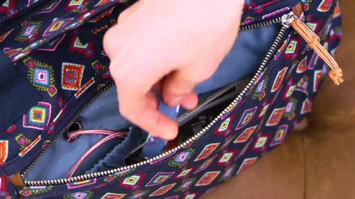 Vera Bradley Lighten Up Expandable Tote - image 6 from the video