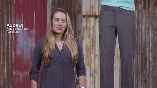 Patagonia Womens Quandary Pants - image 1 from the video
