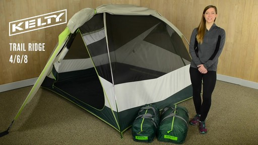 Kelty Trail Ridge with Footprint - image 1 from the video & Kelty Trail Ridge with Footprint » eBags Video