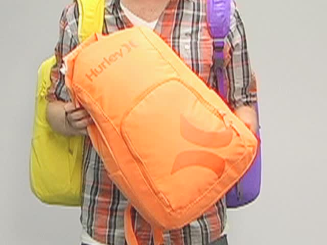 Hurley Foundation Backpack: One Minute Run Down - image 1 from the video