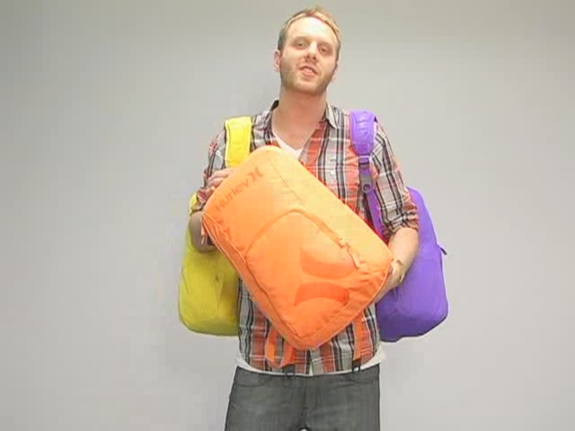 Hurley Foundation Backpack: One Minute Run Down - image 10 from the video