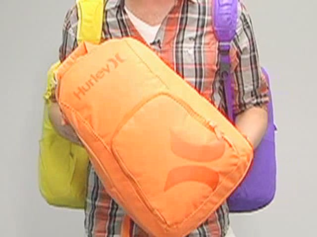 Hurley Foundation Backpack: One Minute Run Down - image 3 from the video