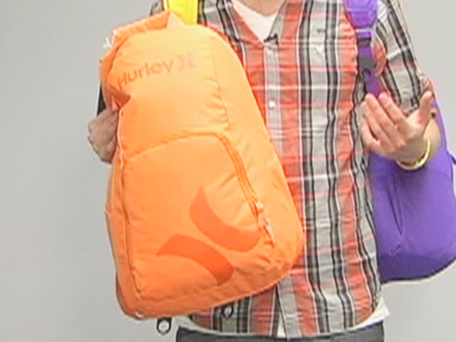 Hurley Foundation Backpack: One Minute Run Down - image 5 from the video