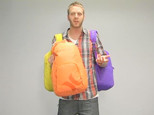 Hurley Foundation Backpack: One Minute Run Down - image 7 from the video