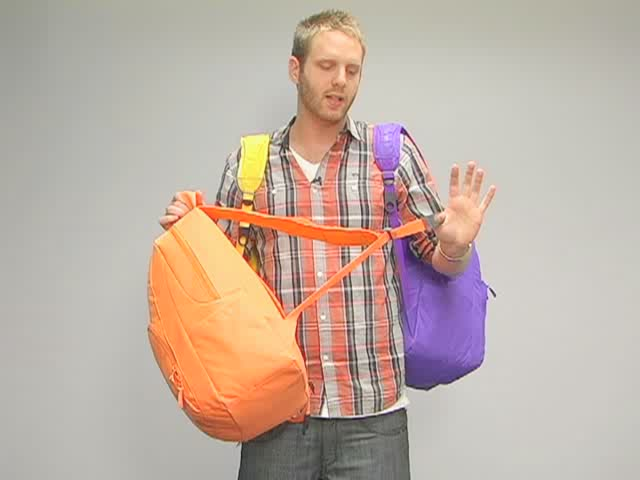 Hurley Foundation Backpack: One Minute Run Down - image 9 from the video