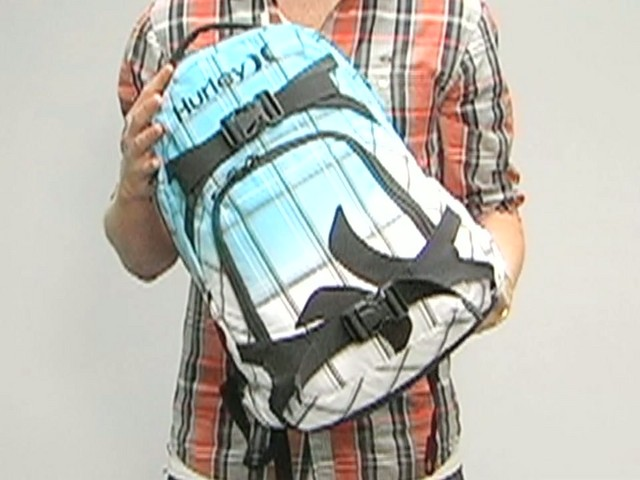 Hurley Honor Roll Backpack - image 1 from the video