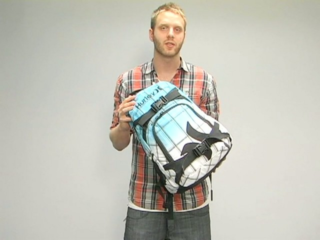 Hurley Honor Roll Backpack - image 4 from the video