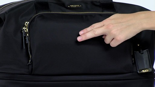 Tumi Voyageur Durban Expandable Duffel - eBags.com - image 2 from the video