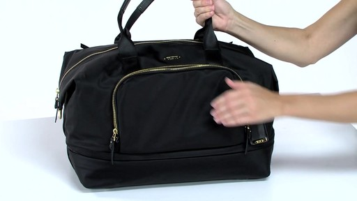 Tumi Voyageur Durban Expandable Duffel - eBags.com - image 5 from the video