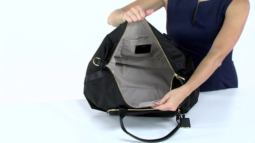 Tumi Voyageur Durban Expandable Duffel - eBags.com - image 6 from the video