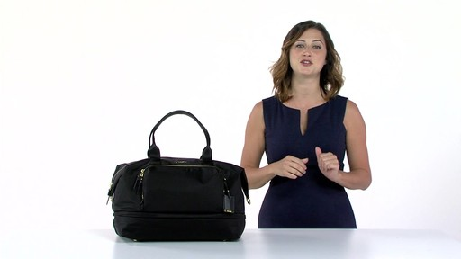 Tumi Voyageur Durban Expandable Duffel - eBags.com - image 8 from the video