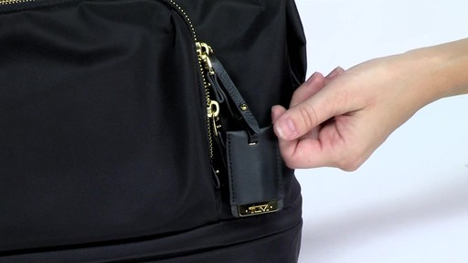 Tumi Voyageur Durban Expandable Duffel - eBags.com - image 9 from the video