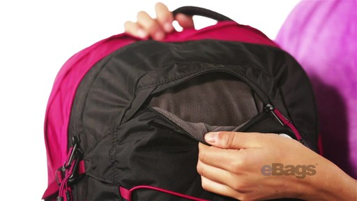 The North Face Women's Borealis Laptop Backpack - eBags.com - image 6 from the video