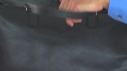 Tumi Astor Regis Slim Zip Top Leather Brief - Shop eBags.com - image 9 from the video