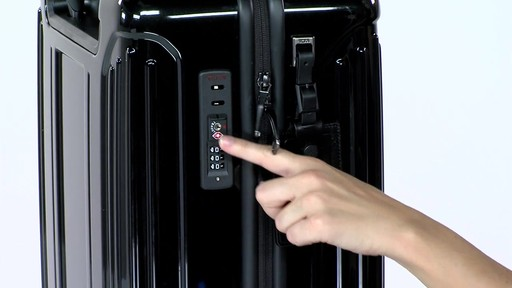 Tumi Vapor Lite International Carry On - eBags.com - image 6 from the video