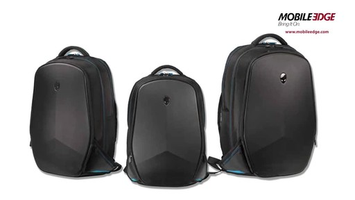 Mobile Edge Alienware Vindicator 2.0 Laptop Backpacks - image 1 from the video